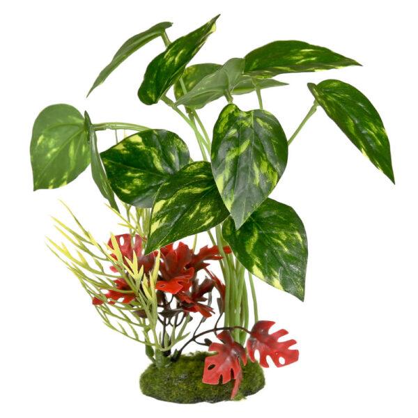 CB-3051 - ColorBurst Florals® Pothos Variegated Leaf Cluster