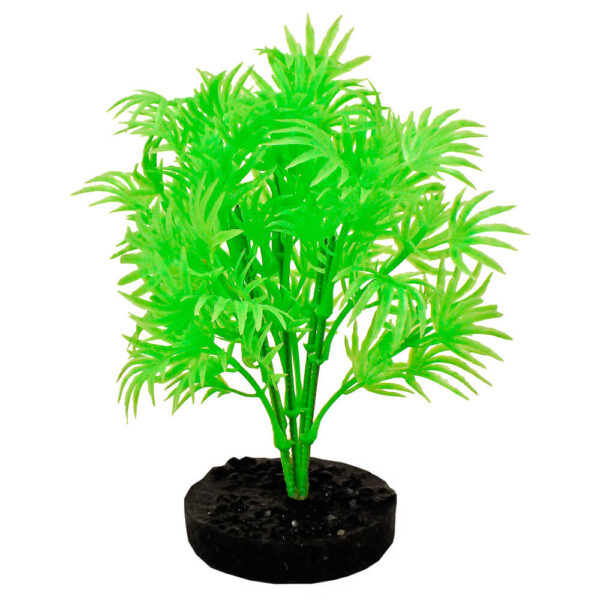 CB-2100-NGR - ColorBurst Florals® Dragon Leaf Plant - Neon Green