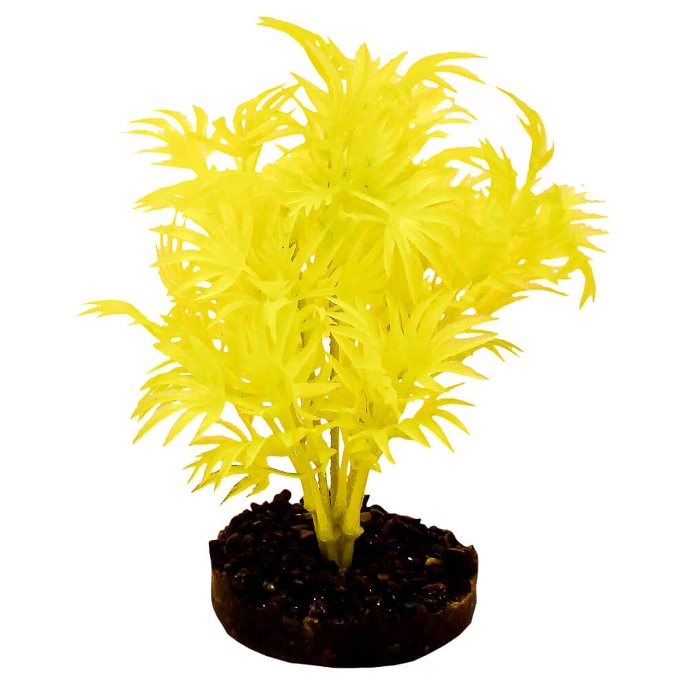 CB-2100-NYW - ColorBurst Florals® Dragon Leaf Plant - Neon Yellow