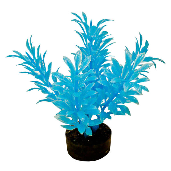 CB-2101-NBL - ColorBurst Florals® Exotic Mini Plant - Neon Blue