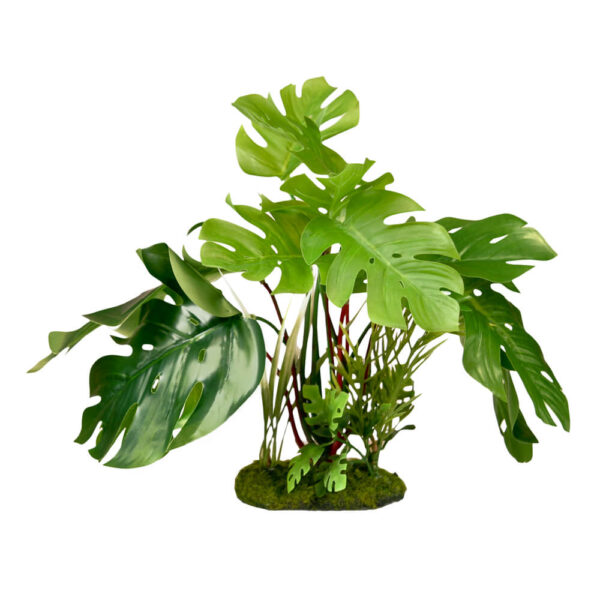 CB-3001-GR - ColorBurst Florals® Split Green Leaf Philodendron