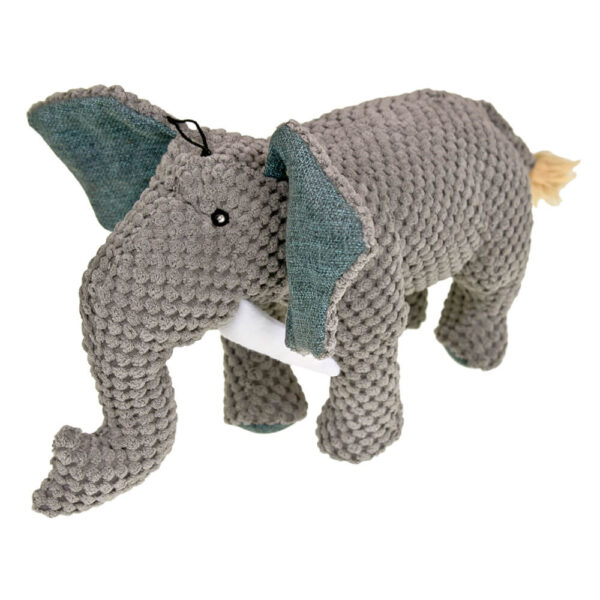 DTP-139-GY - Plushables® Natra Buddies® - Elephant - Grey