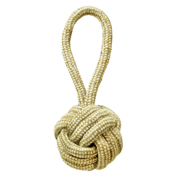 DTR-103 - Tug-O-Rope® Cambric Rope Monkey Fist Tug