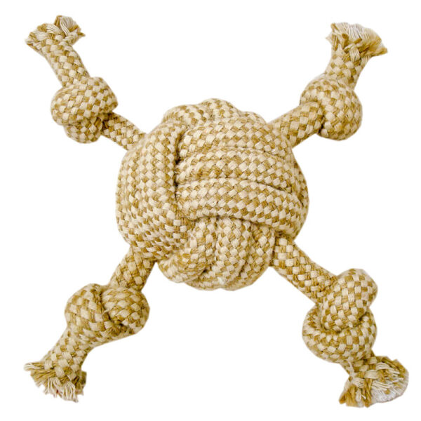 DTR-108 - Tug-O-Rope® Cambric Rope Monkey Fist w/Arms
