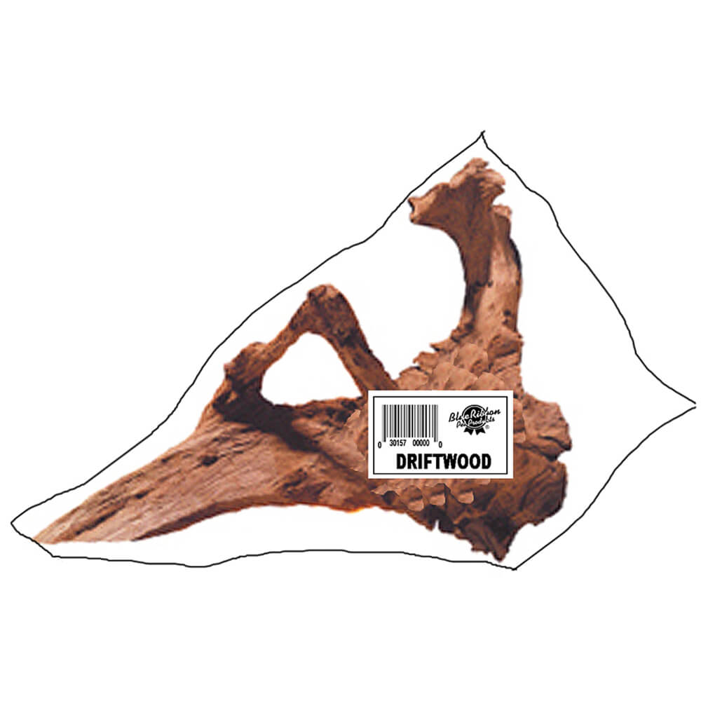 DW-LP - Large Natural Driftwood 20-26 inches Individually Packaged With UPC Label