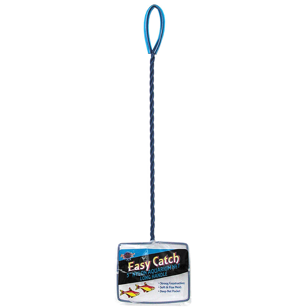 EC-5L - Easy Catch 5 Inch Fine Mesh Net with extra long Handle