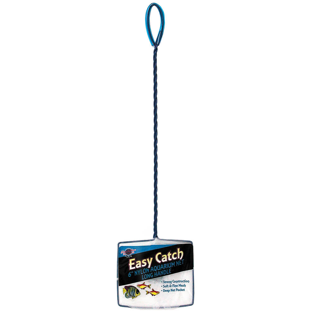 EC-6L - Easy Catch 6 Inch Fine Mesh Net Long Handle