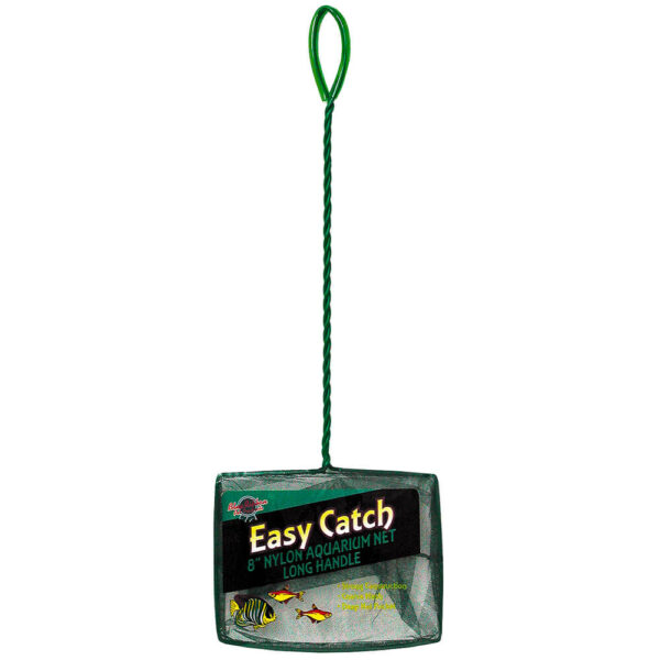 EC-8CL - Easy Catch 8 Inch Coarse Mesh Net Long Handle