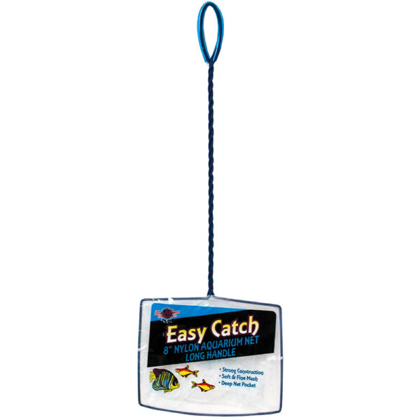 EC-8L - Easy Catch 8 Inch Fine Mesh Net Long Handle