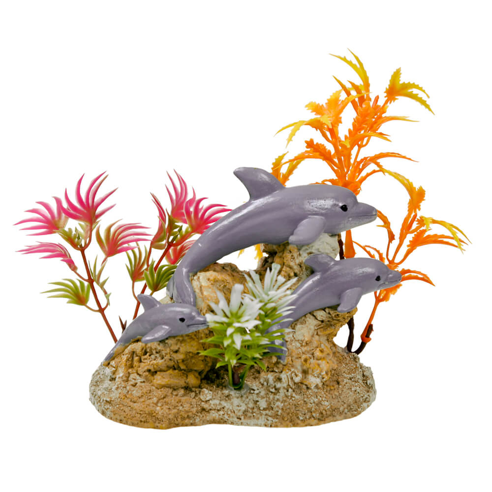 EE-1117 - Exotic Environments® Aquatic Scene with Dolphins