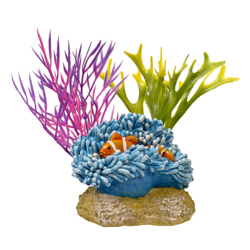 EE-1119 - Exotic Environments® Aquatic Scene with Clownfish