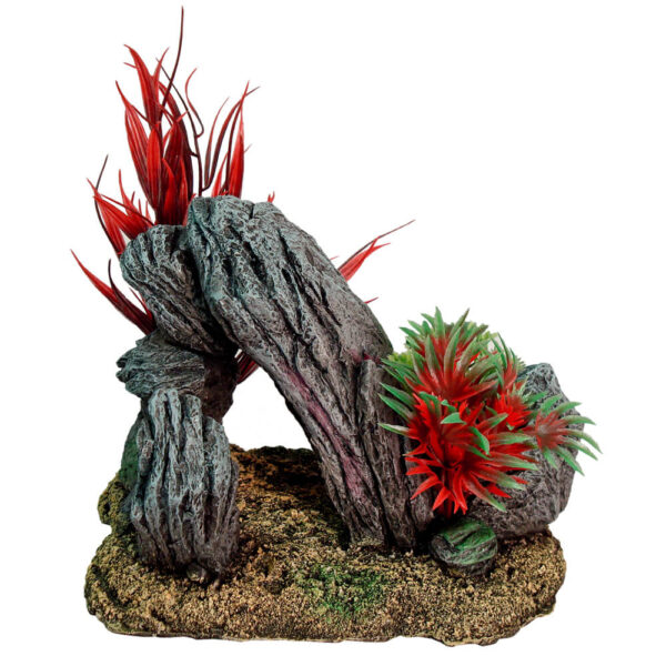 EE-1122 - Exotic Environments® Rock Swim-Through with Plants