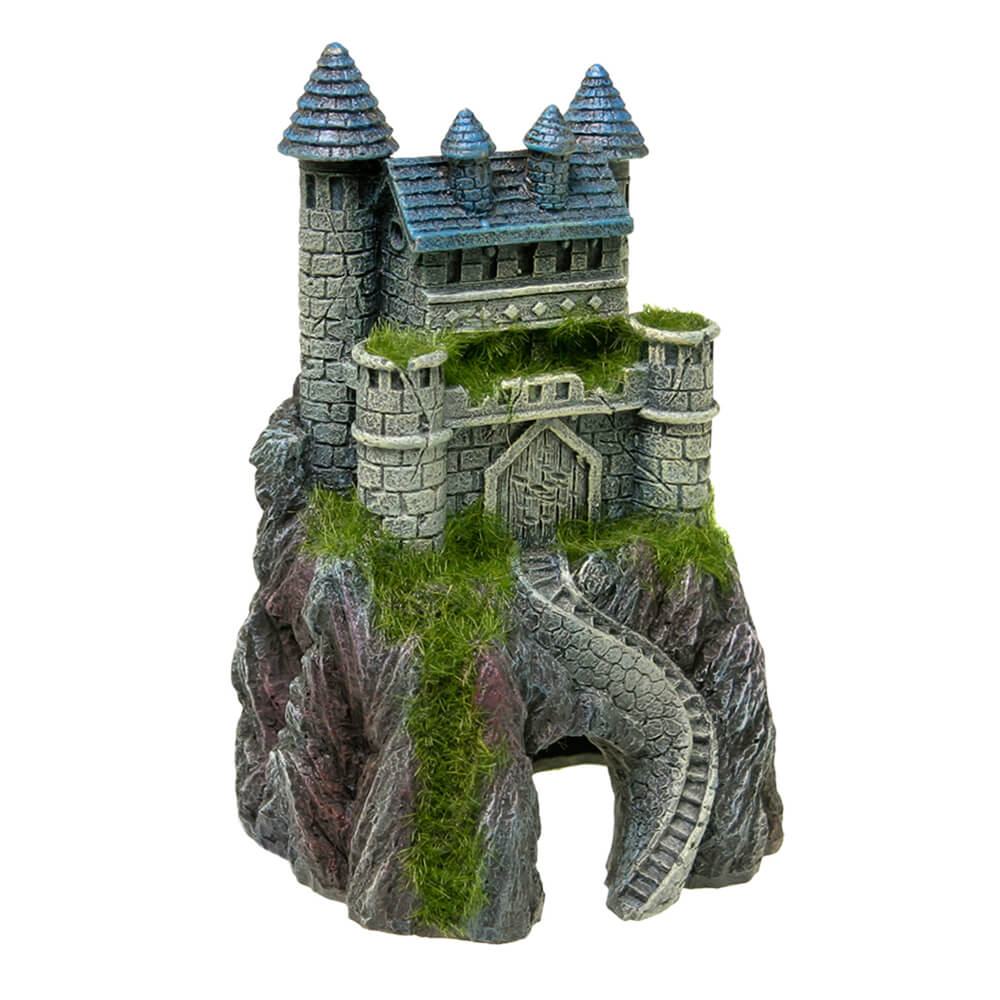 EE-1123 - Exotic Environments® Mountain Top Castle with Moss