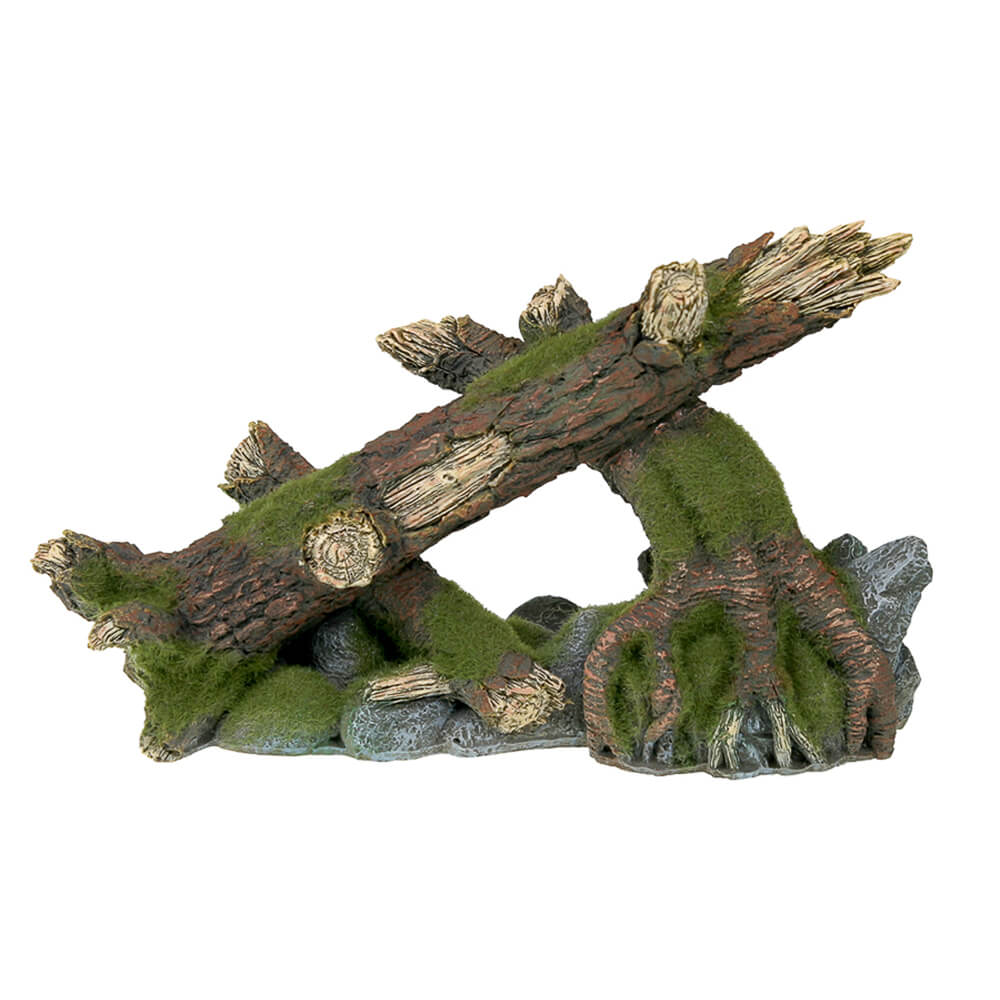 EE-1125 - Exotic Environments® Moss Covered Roots and Logs