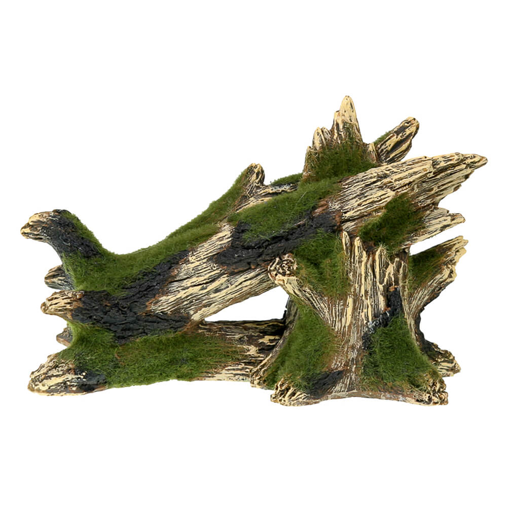 EE-1127 - Exotic Environments® Fallen Moss Covered Tree