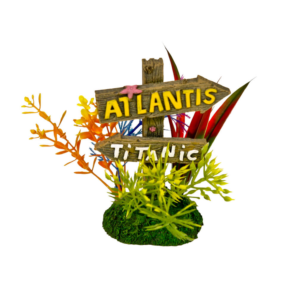 EE-1140 - Exotic Environments® Atlantis and Titanic Sign - Small