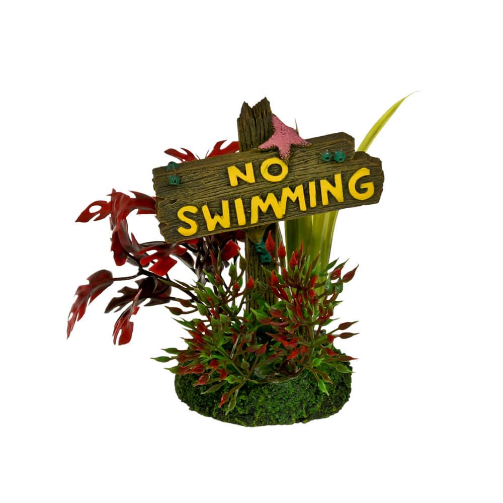 EE-1141 - Exotic Environments® No Swimming Sign - Small