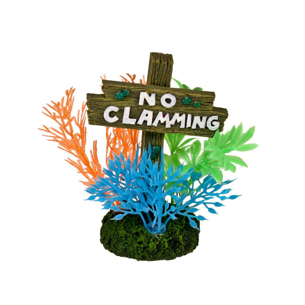 EE-1142 - Exotic Environments® No Clamming Sign - Small