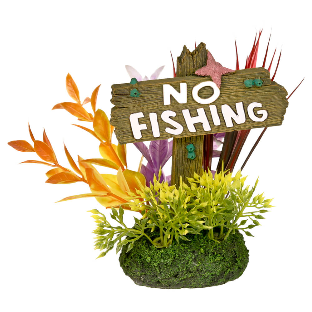 EE-1151 - Exotic Environments® No Fishing Sign - Large