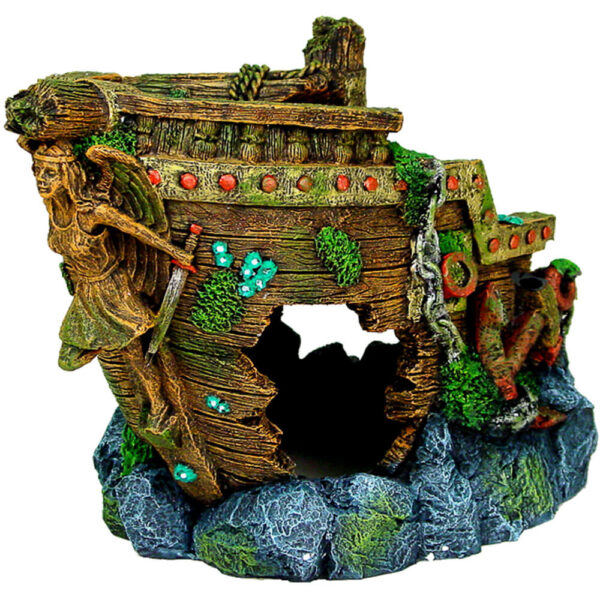 EE-1606 - Exotic Environments® JUMBO Size Bow Shipwreck