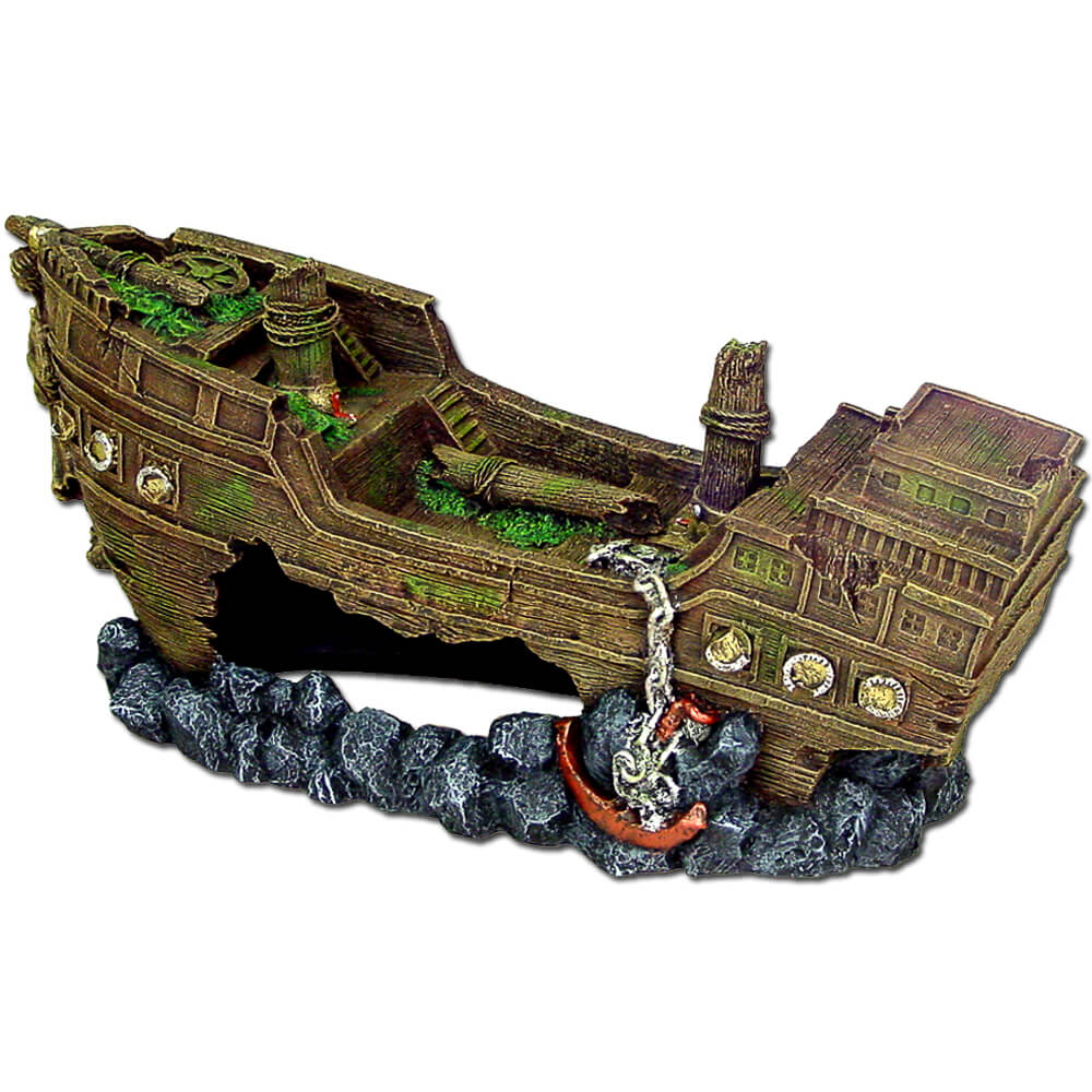 EE-1612 - Exotic Environments® JUMBO Size Shipwreck