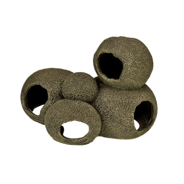 EE-1720 - Exotic Environments® Swim-Through Stone Pile - Small