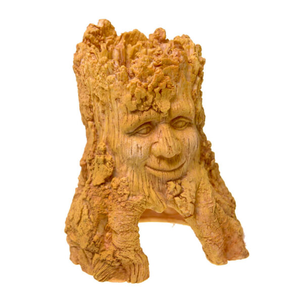 EE-1735 - Exotic Environments® Tree Stump - Terra Cotta