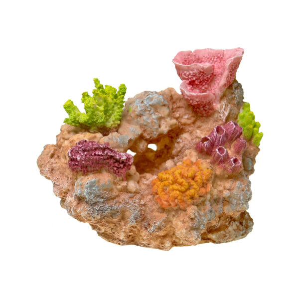 EE-1742 - Exotic Environments® Coral Reef Rock Small