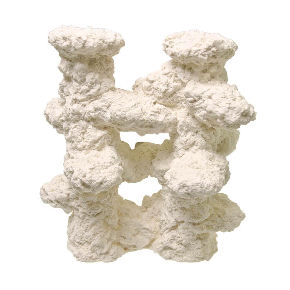EE-1767 - Exotic Environments® Reef Rock Columns - Coral White - Medium