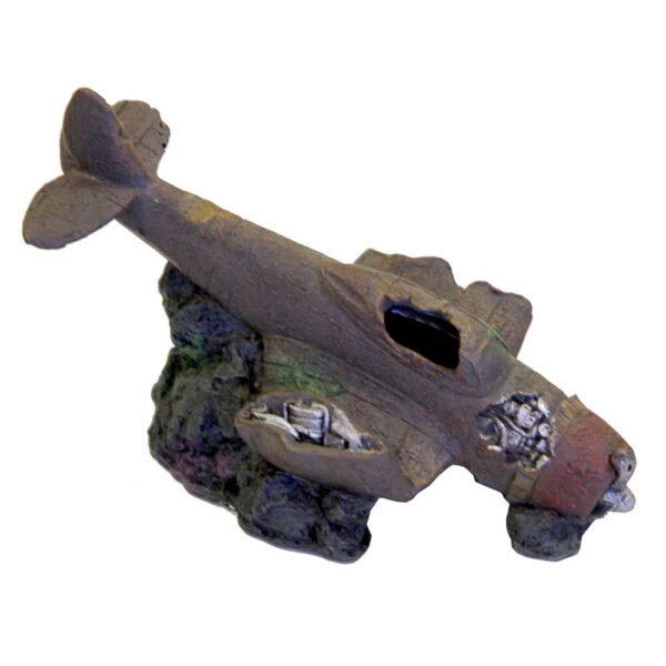 EE-270 - Exotic Environments® Sunken WWII Plane w/Cave