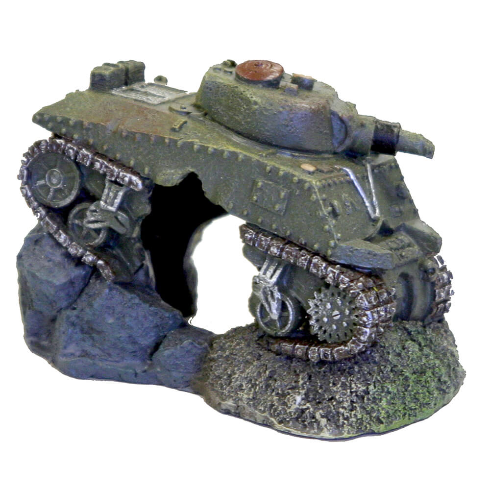 EE-272 - Exotic Environments® Army Tank w/Cave