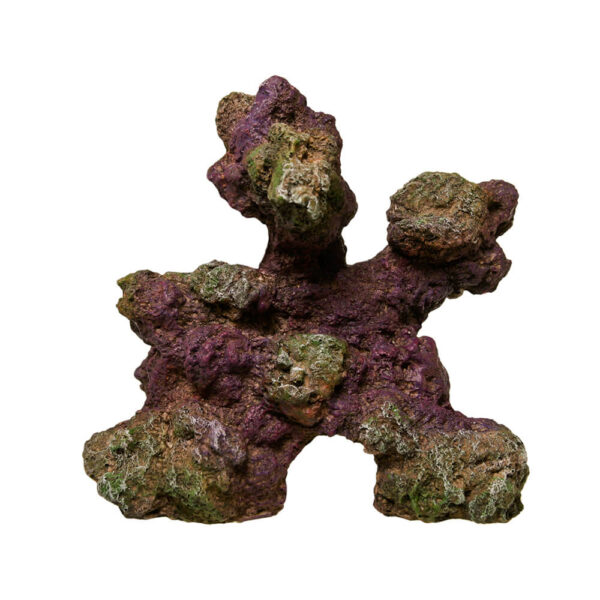 EE-546 - Exotic Environments® REEFflections® Stackable Reef Rock Replicas™ - Base Rock Nat 7 Inch