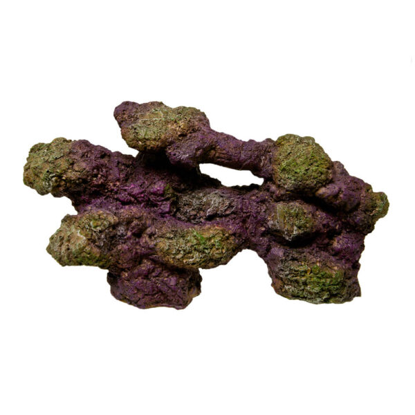 EE-547 - Exotic Environments® REEFflections® Stackable Reef Rock Replicas™ - Base Rock Nat 11 Inch