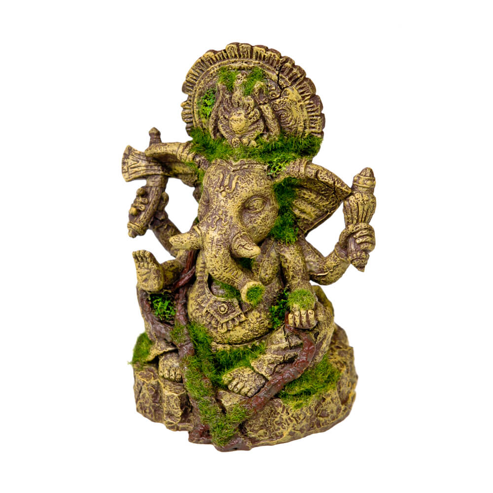 EE-694 - Exotic Environments® Ganesha Statue with Moss