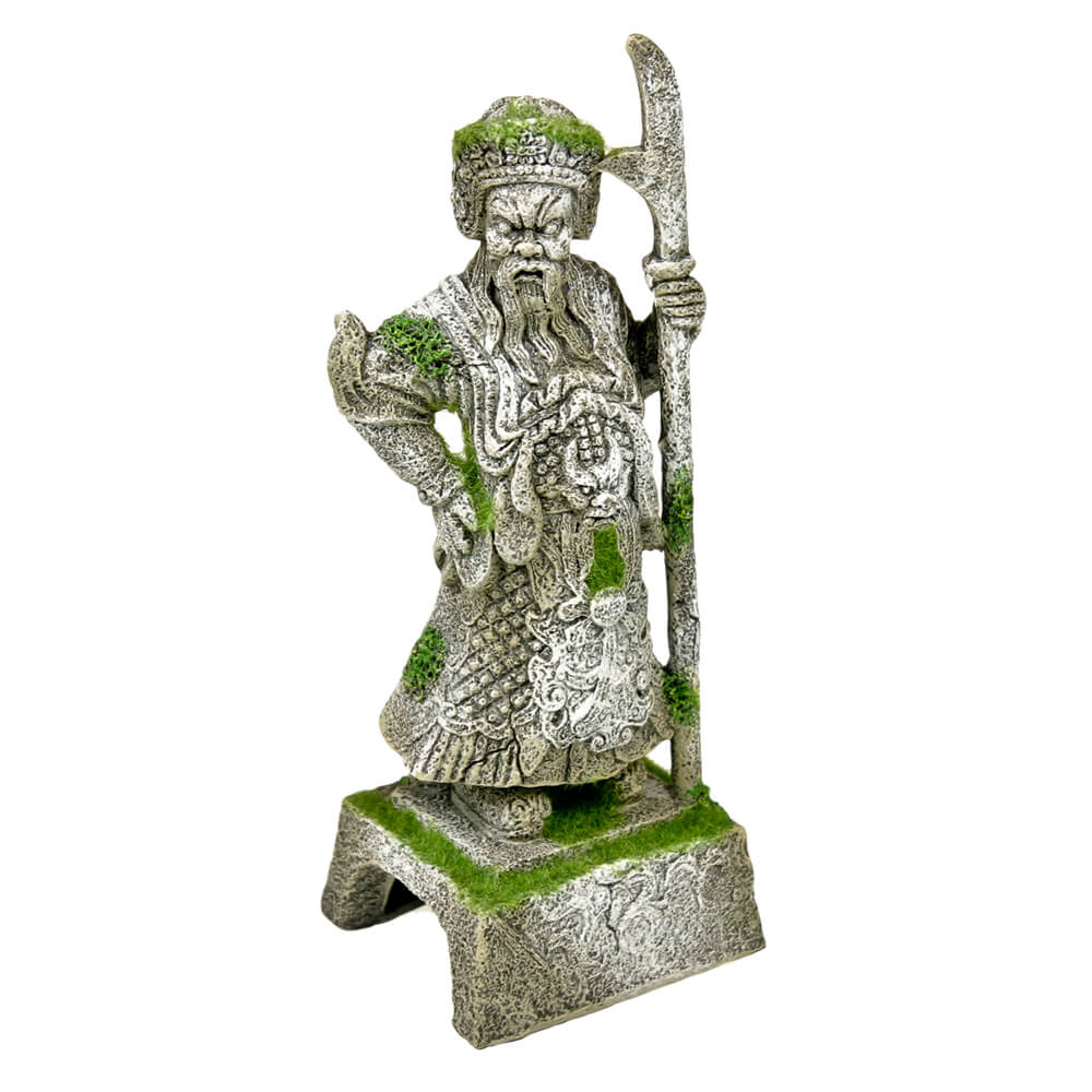 EE-695 - Exotic Environments® Thai Warrior Statue with Moss