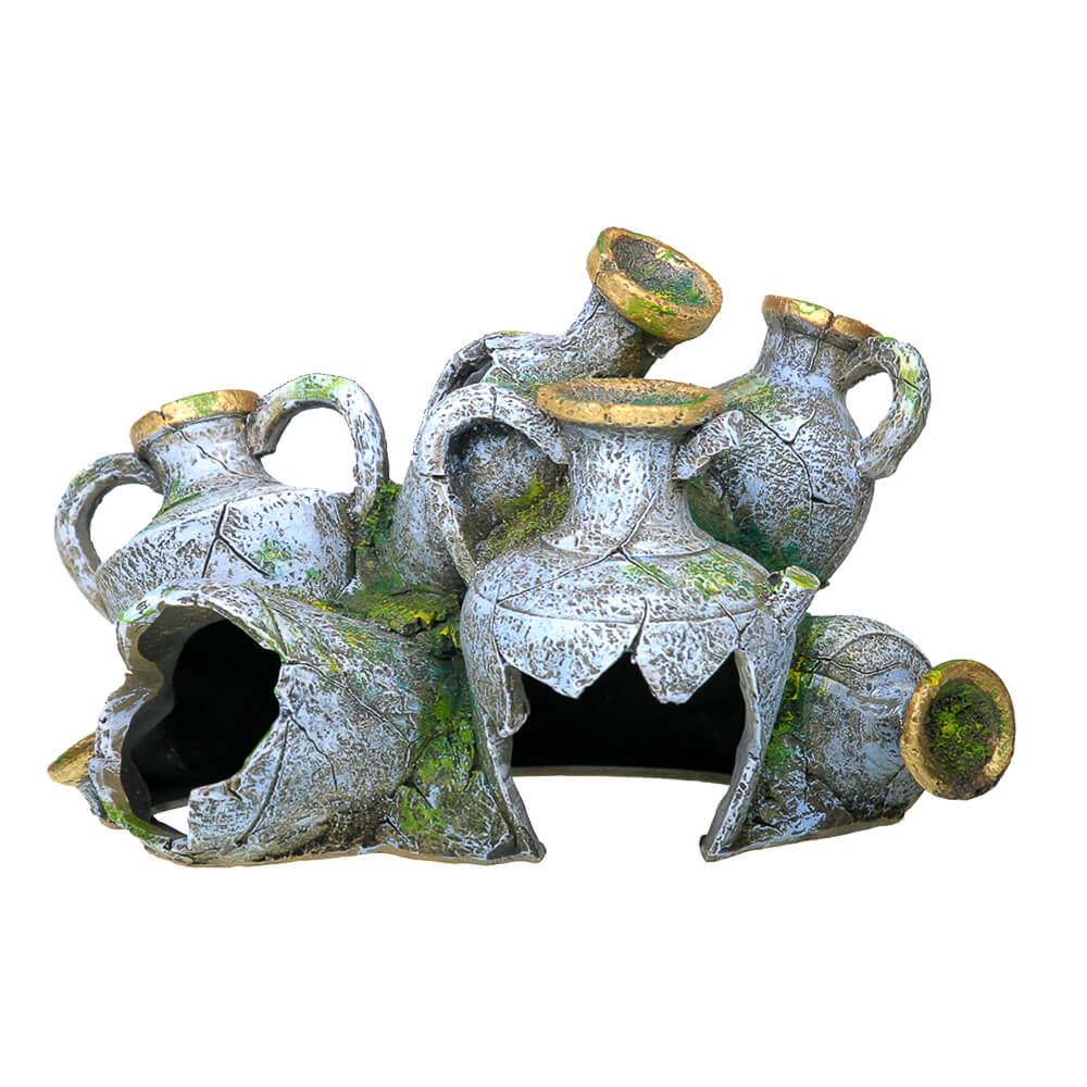 EE-828 - Exotic Environments® Ancient Vase Swim Through - Medium