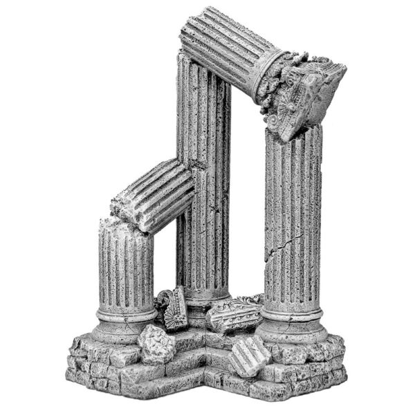 EE-913 - Exotic Environments® 3 Column Ruins - Corner Section