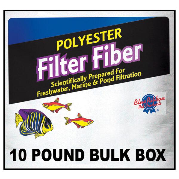PLY-10 - 10 lb. bulk 100% Polyester filter Floss